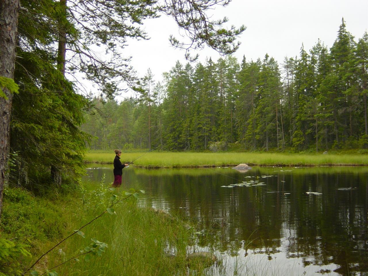 09 We hadden een visvergunning, maar hebben er weinig gebruik van gemaakt (Bas Wetter)