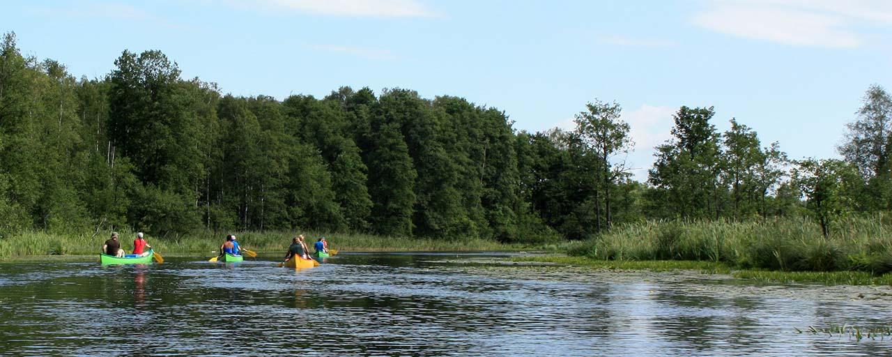 Fotoverslag van een kanotocht over de Poolse Mazurische meren (Annemieke)