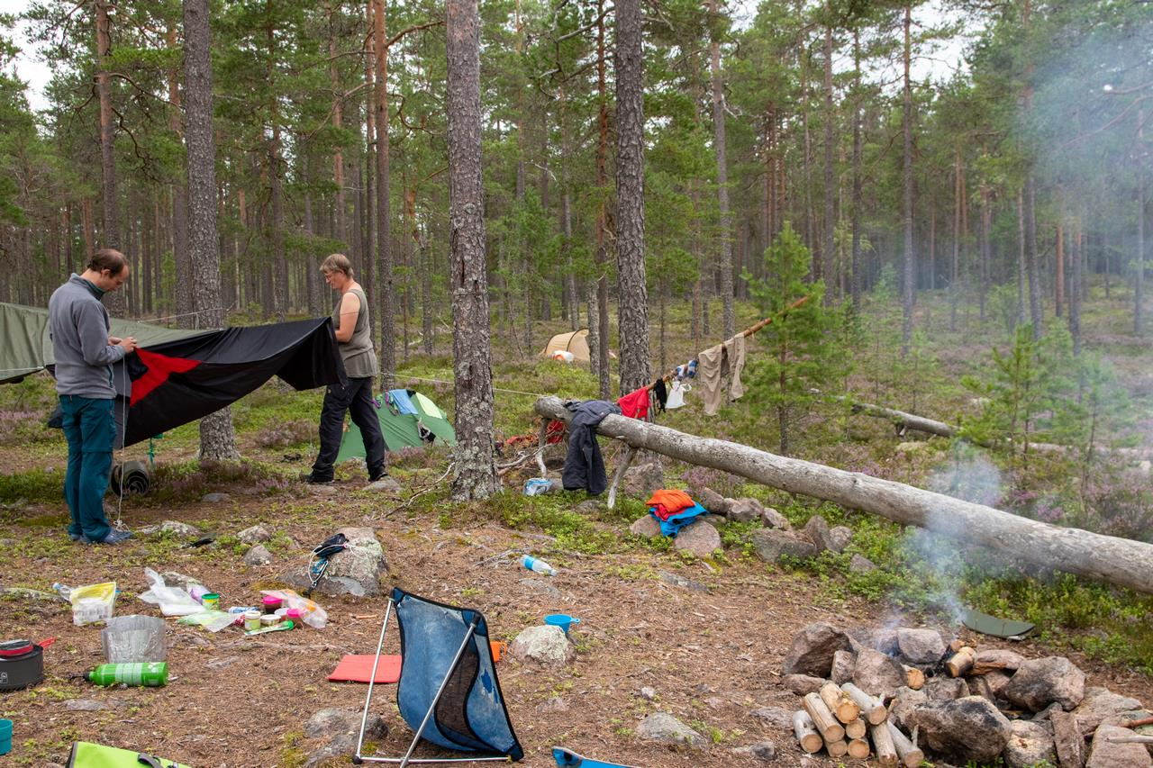 Het kamp op de rustdag (Bas Wetter)