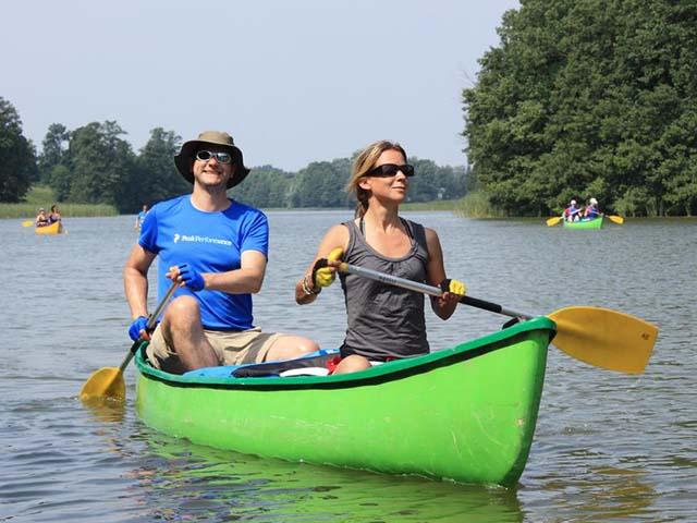 Kanotocht op de Poolse Mazurische meren (Annemieke)