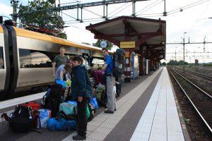 Bij Treq reizen we duurzaam met de trein naar het kanogebied (Annemieke)