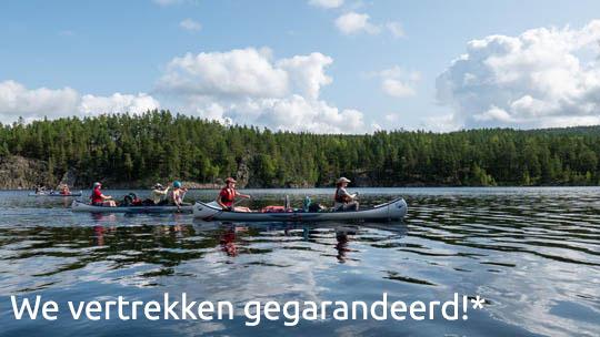 Kom in augustus mee kanoën in Noorwegen en Zweden en verblijf 12 dagen outdoor in de natuur - vertrek gegarandeerd (Bas Wetter)
